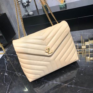 Hot New Marke Bag Sale very high quality real leather hot selling shoulder bag for women good price free shipping 459749 LOU LOU 32cm