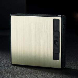 Cas de l'allume-cigare Creative coupe-vent Circulation automatique de cigarettes pop-up gonflables légers Accessoires portatifs fumeur