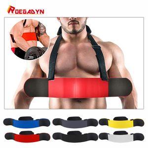 Poids de levage Roegadyn Entraîneur Biceps Blaster Haltérophilie Arm Blaster Fitness Arm Biceps Bombardier Haltérophilie Biceps Training Board