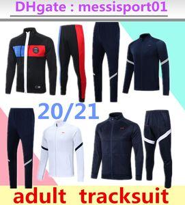 paris costume veste 2020 2021 France PSG MBAPPE 2020/21 AJ Paris CAVANI veste survêtement rose vêtements d'hiver complet costume veste zippée