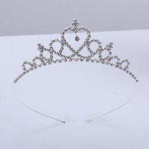 Crown girl Accessories wedding children's wedding dress performance dress host diamond crown accessories