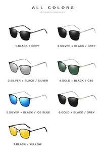 Бесплатная доставка мужские солнцезащитные очки Новая коробка поляризованные солнцезащитные очки P0864 Металл Driver Night Vision Очки