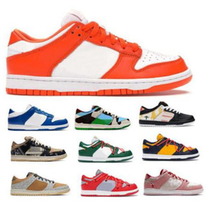 Uomini Chunky Dunky Dunks SB Low scarpe da basket Sneakers Travis Scotts Stranamore uniformi Scarpe Safari Siracusa Kentuckyes Arancione Off scuola