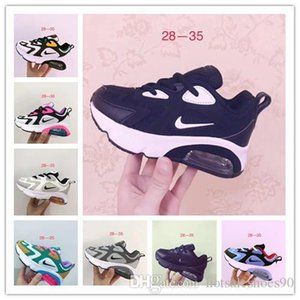 Kids Airmattress Running Shoes 200 Bordeaux University Red Mystic Green triple Black Royal Pulse Girl And Boy Outdoor Sneaker Shoes