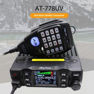 무전기 AT-778UV 25W UHF VHF 양용 라디오 이동할 수있는 라디오 ANYTONE AT-778 차량 Mouted 자동차 라디오