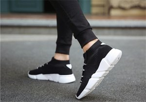 New 2019 Cheap Hover-cushioned shoes students casual running shoes fashion plus-size 36-45 men's women's small white shoes39-44