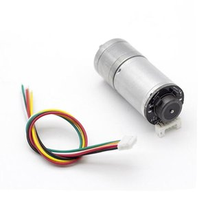 GM25-370 DC geared motor   speed measurement with encoder   high-power smart car motor
