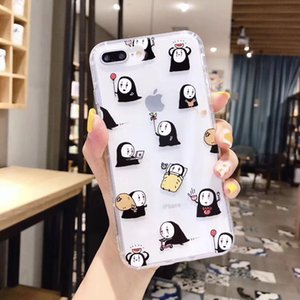 Mytoto Japan Anime Totoro Spirited Away funda linda de dibujos animados para iphone 6 6s 7 8 plus x xs max xr clear soft candy tpu fundas fundas