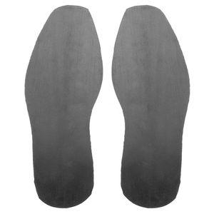 1 par de zapatos Kit de suela plana DIY reemplazo reparación elástico Espesar suave palo en el talón antipatinaje suela de goma protector