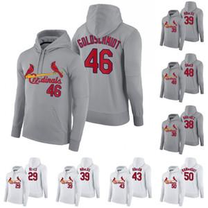 St. Louis 2020 Hoodie Paul Goldschmidt Alex Reyes Jose Martinez Miles Mikolas Dakota Hudson Harrison Bader Wainwright Baseball Sweatshirts