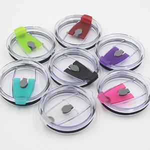 7 cores 30 oz / 20 oz colorido para copos Leakproof tampas respingo Limpar Derrame Tampas tampas à prova de Copos Copos de palha Tampas
