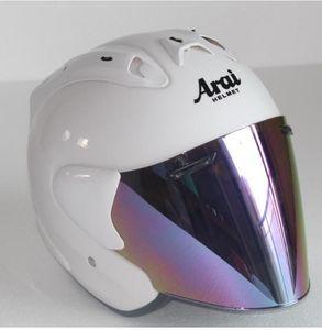 Motorrad-Sturzhelm Halb Open Face Männer Frauen Casco Weinlese-Roller Jet Helm Retro Helme Pare Moto Cascos Para