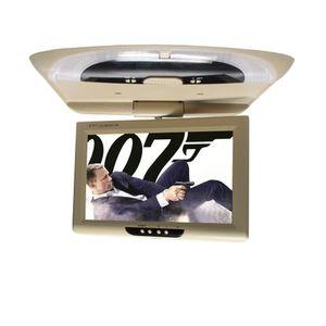 모니터 2 가지 비디오 입력 아래 AV TV 플레이어 플립 9 인치 차 지붕 모니터 TFT LED 스크린