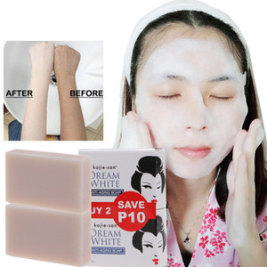 Kojie San handgemachte Seife Haut Lightening Seife Bleaching Kojisäure Glyzerin-Seife Intensivreinigung Erhellen Hautpflege