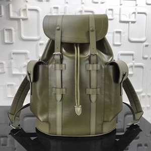 Brand Design Fashion Men Women Big Laptop Backpack Bag Sport Climbing Damier Infini Onyx Silver Zipper Totes Leather Street school handBag