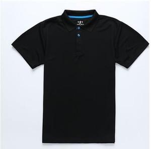 Camiseta de verano para hombre Marca de secado rápido Tops Moda Empalme Solapa Hombres Mujer Camiseta Camisa de golf profesional Camiseta casual Camiseta masculina Camisetas