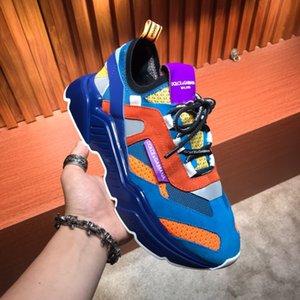2020 erkek tasarımcı S Ayakkabı S erkek lüks Ayakkabı Sneakers DG erkek iş rahat ayakkabılar deri ayakkabı 38 ~ 44 #055