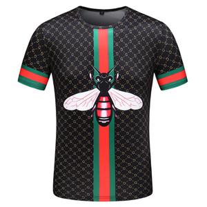 Erkekler ile Mektupları Baskılı Tshirt Boyut M-3XL için lüks Marka Tasarımcılar Tişörtlü Hip Hop Beyaz Erkek Giyim Casual T Shirt