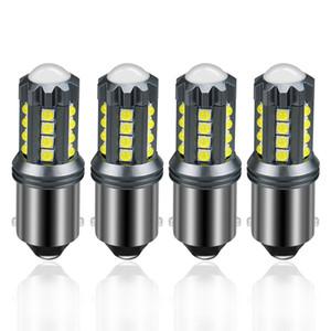 10pcs P21W 1156 BA15S Canbus HATASIZ 23 LED-3030 SMD Otomobil için LED Ampul 1600Lm Oto Fren lambası Geri Sinyal Işık yok Flash değiştirin