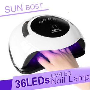 Brand New 120W UV LED Lamp Nail Dryer For Curing All Types Gel Polish Manicure Ice Lamp 36Pcs Sun Light Infrared Sensing Smart
