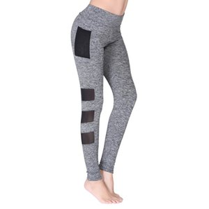 Women's Sports Mesh Pants Gym Workout Fitness Yoga Pants Leggings Are Great For Sports To Absorb Moisture And Stay Cool