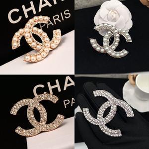 El diseñador de moda broches joyería de la vendimia diamante completo broche del Pin colorido Hombres Mujeres Traje accesorios de vestir con la caja