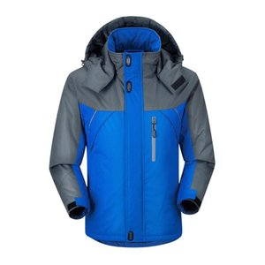 ZACOO Homens Outdoor Caminhadas Jacket Waterproof revestimento morno Windproof Snowboarding