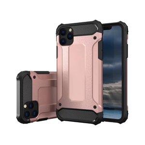 Armadura híbrido Defender Case Capa TPU + PC à prova de choque para iphone 11 2019 11 PRO 11 PRO MAX XR XS XS MAX 50pcs / lot