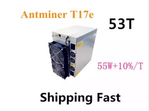 Antminer T17 50T BCH Miner AntMiner T17e 53TH S With PSU Better Than S9 S9j S15 T17 S17 S17 Pro WhatsMiner M3 M21S M20S Innosilicon T2T Ebit