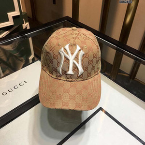 Boné de beisebol de luxo Chapéu de grife Chapéu Casual de luxo Logotipo de moda Lona Hardware de moda Caixa de distribuição de bordado clássico Saco de poeira 161
