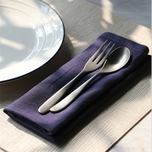 5pcs servilleta de algodón puro llano del color trapo de cocina tapete de mesa sencilla tabla de la servilleta al oeste estudiante estera pat colocado el arte de fondo de tela