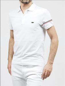 KK Europa MensLACOSTE Marken T Shirts Freizeit Brief-Stickerei-Druck Top-Qualität Luxus-T-Shirts Kleidung 13- Mode für Männer; s Tees