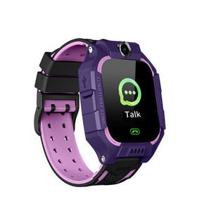 Q19 Kinder Kinder Smart Watch LBS Positionierung lacation SOS Smart-Armband mit Kamera Taschenlampe Spiel Smart-Armbanduhr für Baby-Sicherheits-Studie