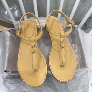2020 Summer Comfort Shoes For Women Clear Heels Med All-Match Open Toe Sandals Suit Female Beige Ladies Comfort Block#308