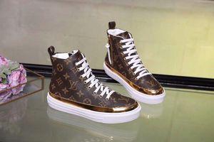 Роскошные Женщины Письмо Печати Повседневная Спортивная Обувь Натуральная Кожа Stellar Sneaker Boot 1a4gke С Коробкой