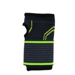 1pc Ciclismo caldo Strap sollievo dal dolore Guanto pressurizzata Pallacanestro mano Supporto elastico da polso Bandage Wrap sportivi regolabili