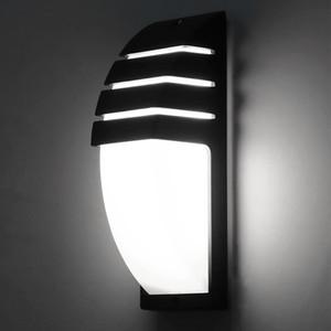 Wall Light impermeabile decorazioni mezza banda Garden COB LED Interni Esterni moderna lega di alluminio di protezione degli occhi
