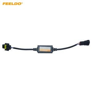 FEELDO de voiture LED Headlamp Free Error Résistance de charge Avertissement Canceller pour H8 / H9 / H11 LED Head Light Canbus Free Error Câblage