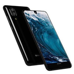 Orijinal SHARP AQUOS S2 4G LTE Cep Telefonu 4GB RAM 64GB ROM Snapdragon 630 Octa Çekirdek Android 5.5 inç 12MP Parmak İzi Kimlik Akıllı Cep Telefonu
