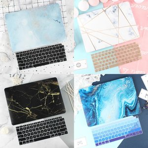 Marble Case for Macbook New Air Pro Retina 11 12 13.3 New Mac Book 13 15 Touch Bar Touch ID 2019 2020 A1932 A2179+Keyboard Cover
