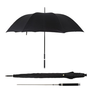 Spada Guerriero Autodifesa ombrello manico lungo Automatic Man antivento Creative Business soleggiato e piovoso Umbrella regalo T200117