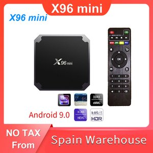 Amlogic S905W Smart TV X96 Mini Android 9.0 BOX 2.4G Wifi 4k Media Player Set Top Box X96mini 2 Go 16 Go TVBox