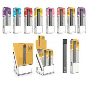 10 colori cartuccia BIDI STICK monouso Dispositivo Pod Starter Kit 280mAh Batteria 1.4ml Vuotare Vape Pen XTRA XTIA ezzy OVALE