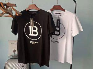 2020ss T-shirts Vêtements Designer T-shirts Bleu Noir Blanc Hommes Femmes SlimBalmain France Paris Marque