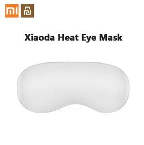 Xiaoda Isıl İşlem Göz Maskesi İpek Kumaş Hızlı Isıtma Üç vitesli Sıcaklık Kontrolü Yorgunluk Uyku Maskeleri rahatlatmak