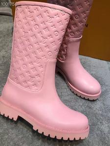 lungo nuovo marchio LL reale stivali di pelle di alta qualità Women Snow Boots casuale Martin all'ingrosso di modo morbido di diamanti delicati