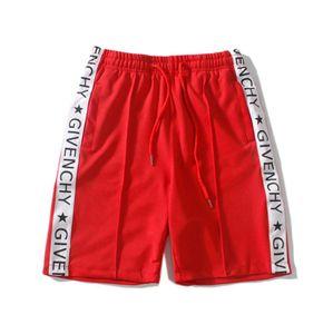 Mens Designer Alphabet imprimir Listra Lateral Calças Moda Shorts Dos Homens Casuais Calções de Praia Calças Dos Homens Underwear Mens Verão bermuda Board Shorts