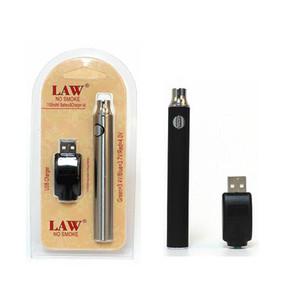 Loi préchauffant la batterie VV 1100mah Vape Pen Blocs Kits O Pen Bud Touch Batterie à Vapeur à Tension Variable avec Chargeur USB