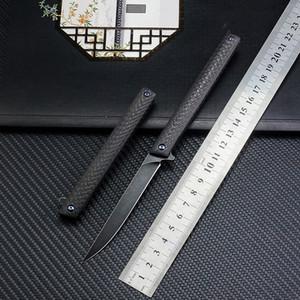 Magic Pen Couteaux tactique M390 Lame couteau pliant Carton fibre Poignée tactique Chasse rapide Ouverture Camping survie Couteaux Outils EDC
