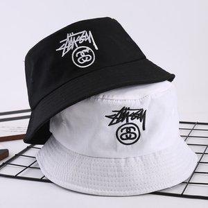 Hot Brand Embroidered mens black luxury Fisherman brand caps designer bucket hats Foldable Fishing polo Beach